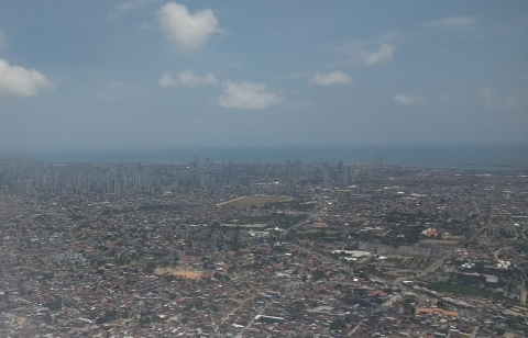 Recife from the sky