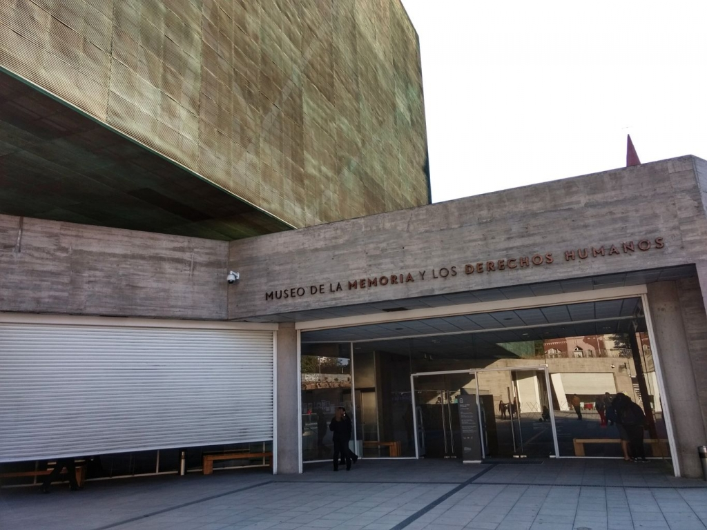 The Museum of Memory and Human Rights, Santiago, Chile.